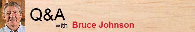 Questions/réponses avec Bruce Johnson