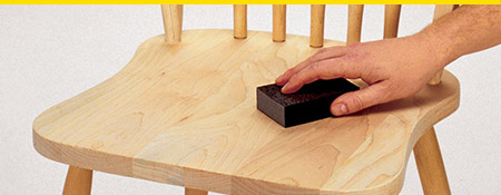 The right sander for Wood Preparation.