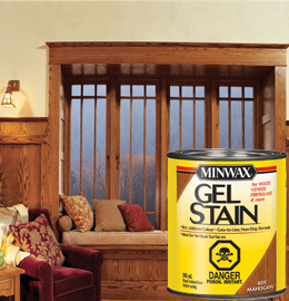 Minwax gel stain stains