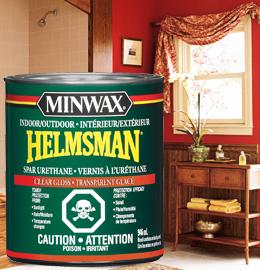 Vernis à l'uréthane Helmsman® Minwax®