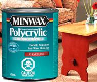 Minwax® Polycrylic™ Protective Finish