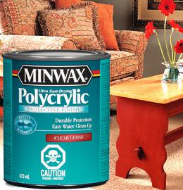 Minwax® Polycrylic® Protective Finish | Interior Clear