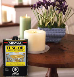 Minwax 174 Tung Oil Finish Specialty Products